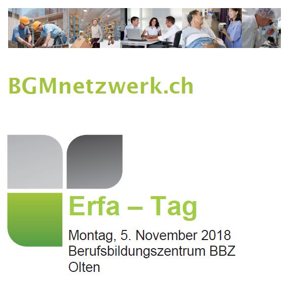 ErfaTag Herbst 2018 - Prëvention Belästigung